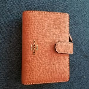 Corner zipper Coach wallet